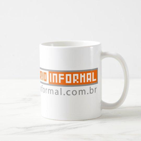 Caneca De Café Eu uso Dicionário inFormal