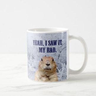 Caneca De Café Eu vi-o dia de Groundhog