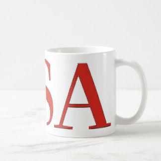 Caneca De Café EUA - Nacional patriótico dos Estados Unidos da