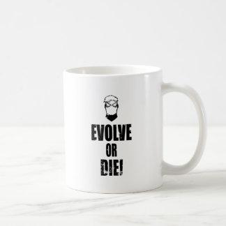 Caneca De Café Evolua ou morra!