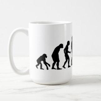 Caneca De Café Evolução do computador