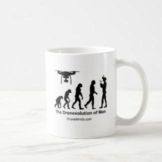 Caneca De Café Evolução do zangão do homem