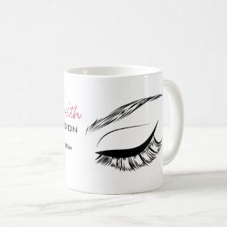 Caneca De Café Extensão do chicote do rímel do esboço do olho