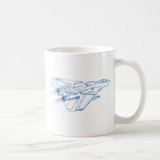 Caneca De Café F-14 Tomcat Grumman