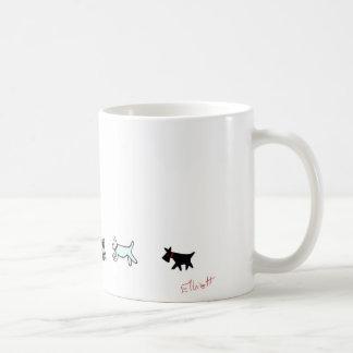 Caneca De Café Faça a caminhada do cachorrinho