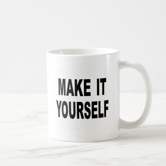 Caneca De Café Faça-o você mesmo feito sob encomenda