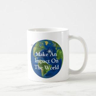 Caneca De Café Faça um impacto