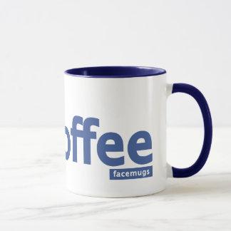 Caneca de café Facebook