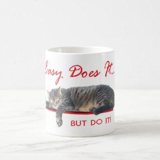 Caneca De Café fácil fá-lo gato
