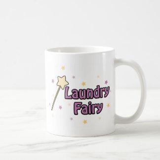Caneca De Café Fada da lavanderia