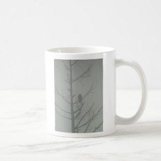 Caneca De Café Falcão na névoa