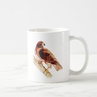 Caneca De Café Falcão vermelho da cauda