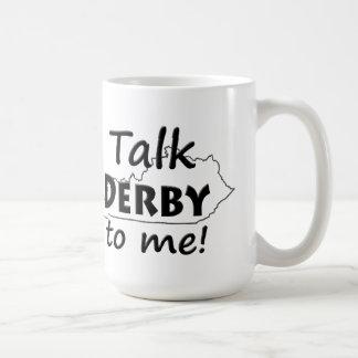 Caneca De Café Fale-me Derby fãs da corrida de cavalos de | Derby