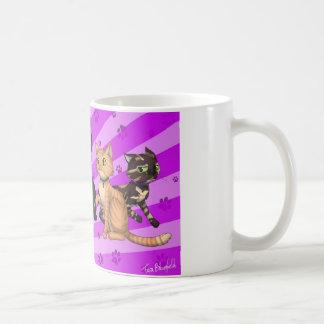 Caneca De Café Família de gato