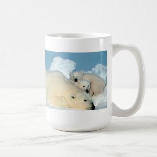 Caneca De Café Família do urso polar