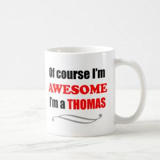 Caneca De Café Família impressionante de Thomas