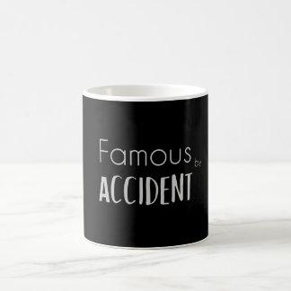 Caneca De Café Famoso acidentalmente