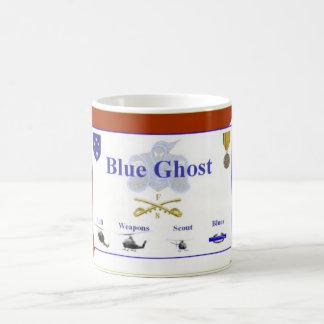 Caneca De Café Fantasma azul