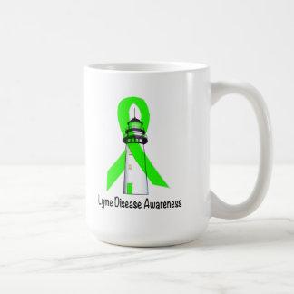 Caneca De Café Farol da doença de Lyme da esperança