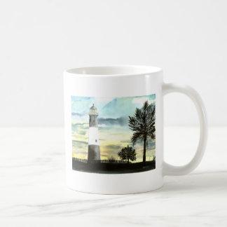 Caneca De Café Farol da ilha de Tybee