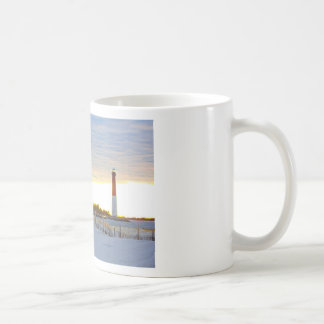 Caneca De Café Farol no por do sol