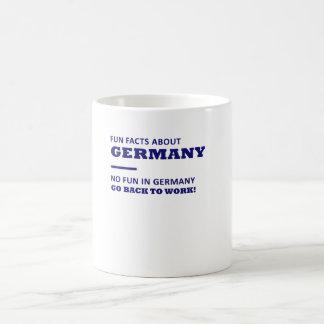 Caneca De Café Fatos de divertimento sobre Alemanha, nenhum