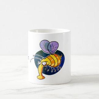 Caneca De Café feio bumble desenhos animados engraçados da abelha