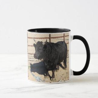 Caneca de café feita sob encomenda preta pequena