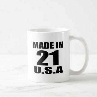 CANECA DE CAFÉ FEITO EM 21 DESIGNS DO ANIVERSÁRIO DOS EUA