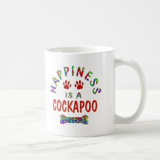 Caneca De Café Felicidade de Cockapoo