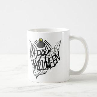 Caneca de café feliz da Web de aranha do Dia das