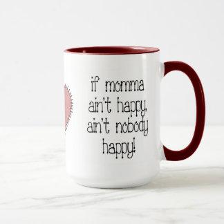 Caneca de café feliz de Momma