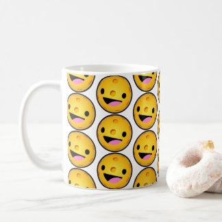 Caneca de café feliz de Pickleball