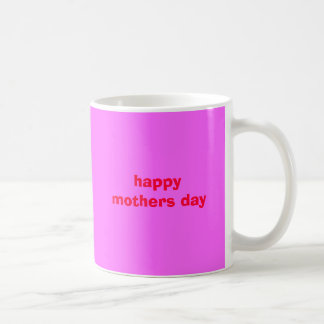 Caneca De Café feliz dia das mães