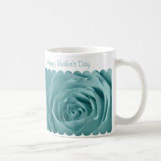 Caneca De Café Feliz dia das mães - centro cor-de-rosa do
