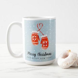 Caneca De Café Feliz Natal e feliz ano novo