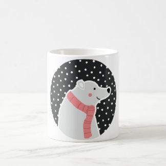 Caneca De Café Feliz Natal - urso polar
