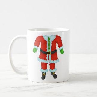 Caneca De Café Feriado engraçado do Natal da novidade do corpo de