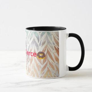 Caneca de café feroz gorda apta