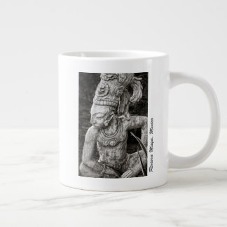 Caneca de café - figura maia antiga - México