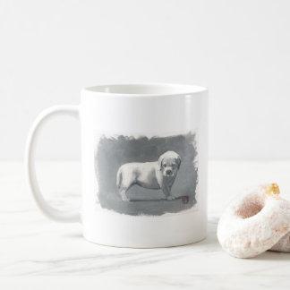 Caneca De Café Filhote de cachorro bonito de Labrador em