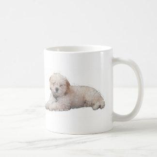 Caneca De Café Filhote de cachorro da caniche