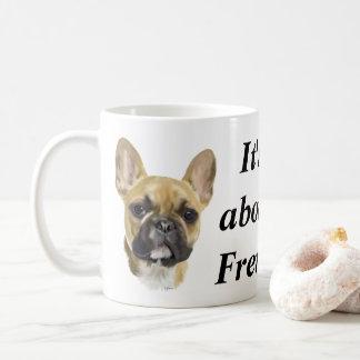 Caneca De Café Filhote de cachorro do buldogue francês