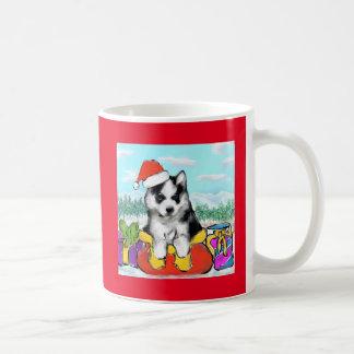 Caneca De Café Filhote de cachorro do Malamute do Alasca