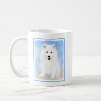 Caneca De Café Filhote de cachorro do Samoyed
