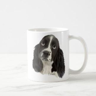Caneca De Café Filhote de cachorro do Spaniel de Springer inglês