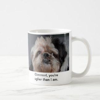 Caneca De Café Filhote de cachorro feio