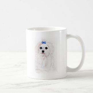 Caneca De Café Filhote de cachorro maltês