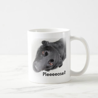 Caneca De Café Filhote de cachorro por favor? Copo