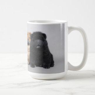 Caneca De Café Filhotes de cachorro da comida de comida